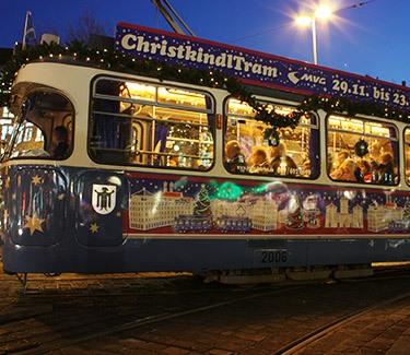 ChristkindlTram München