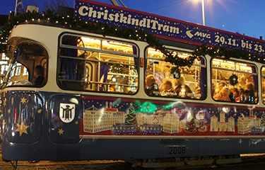 ChristkindlTram Munich