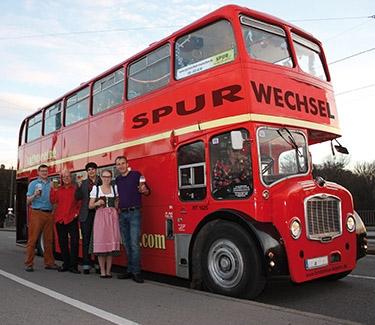 Galerie-Doppeldeckerbus München