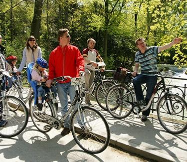 Galerie-München Highlights Radtour München Englischer Garten