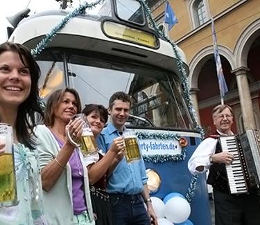 Galerie-PartyTram München Event