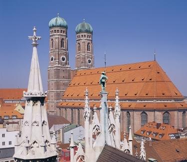 München Highlights Frauenkirche München