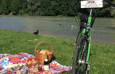 Picknick Radtour München