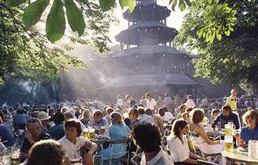 Picnic Beergarden Munich