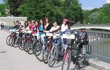 Radtour Schüler München