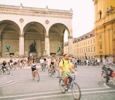 Spurwechsel Gutschein Radtour