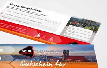 Spurwechsel Gutschein Stadtführung München