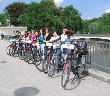 Stadtführung Radl München Schulklassen