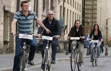 Stadttour mit dem Fahrrad München