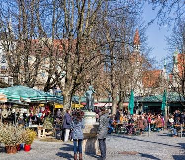 Viktualienmarkt Tour München