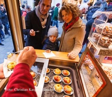 Weihnachtsrundgang kulinarisch München