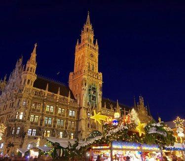Marienplatz München Weihnachten