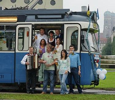 Partytram München Gruppenevent