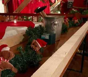 Christmas Olympics hammer
