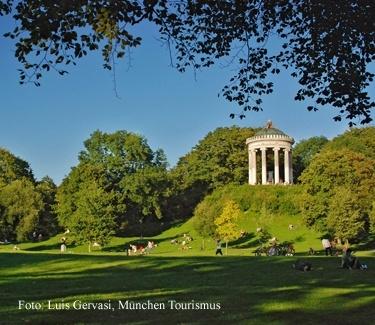 Stadtführung München Englischer Garten