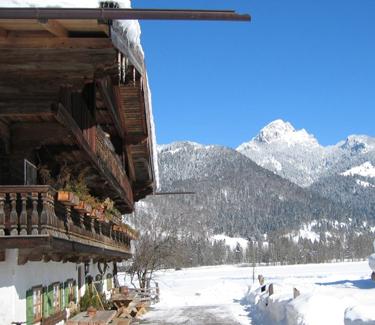 Weihnachtsfeier Hütte