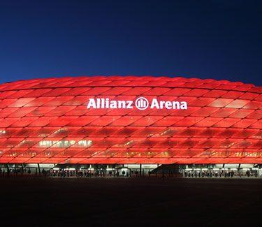 Fußballtour München Allianz Arena