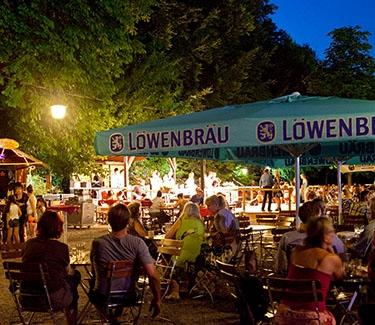 Location Beergarden Munich