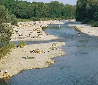 Natour Biketour Munich Isar