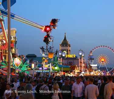 Oktoberfest Munich Panorama