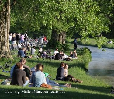 Picknickkorb und Radl München