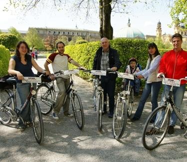 Stadttour München auf dem Fahrrad